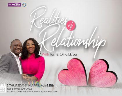 Realities of Relationship